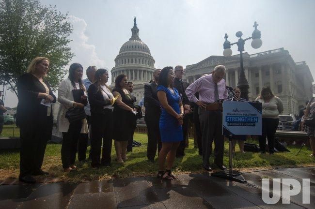 Advancing Immigration Solutions Press Conferece at US Capitol