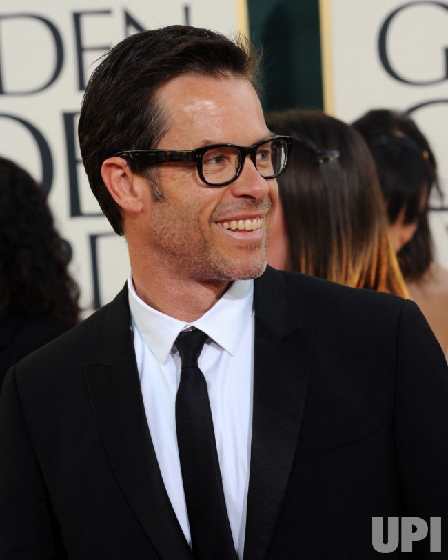 Guy Pearce arrives at the 68th annual Golden Globe Awards in Beverly Hills, California