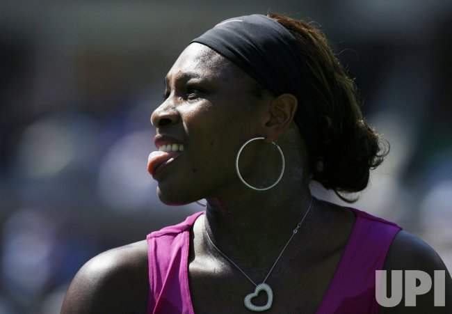 Serena Williams defeats Maria Jose Martinez Sanchez on day 5 at the US Open Tennis Championships in New York