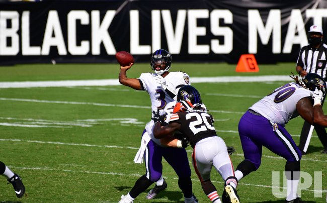Baltimore Ravens defeat Cleveland Browns 38-6 at M&T Bank Stadium