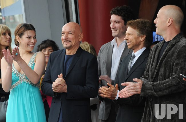 Ben Kingsley receives star on the Hollywood Walk of Fame in Los Angeles