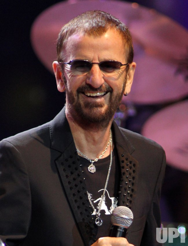 Ringo Starr performs in Florida