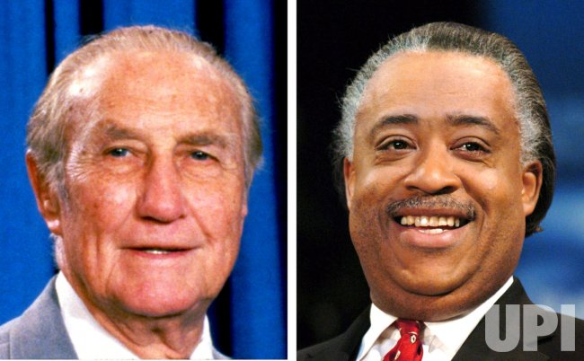 SHARPTON APPARENTLY RELATED TO THURMOND