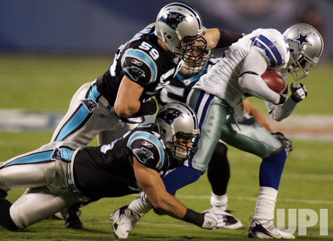 CAROLINA PANTHERS VS DALLAS COWBOYS