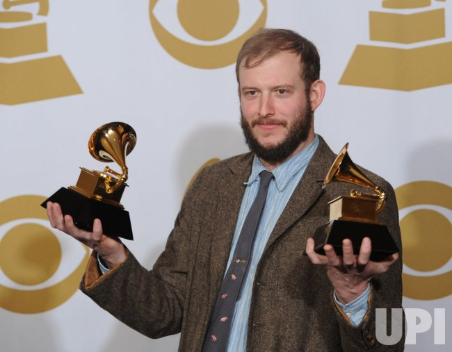 Bon Iver is Best New Artist at the Grammys in Los Angeles