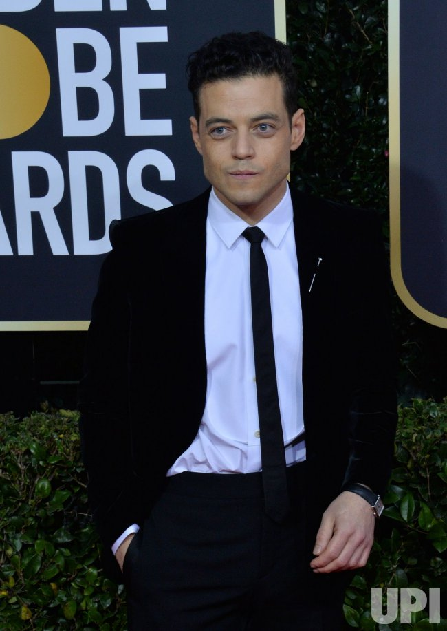 Rami Malek attends the 77th Golden Globe Awards in Beverly Hills