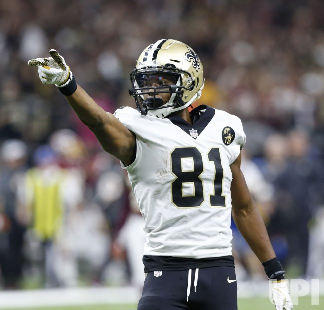 New Orleans Saints wide receiver Cameron Meredith