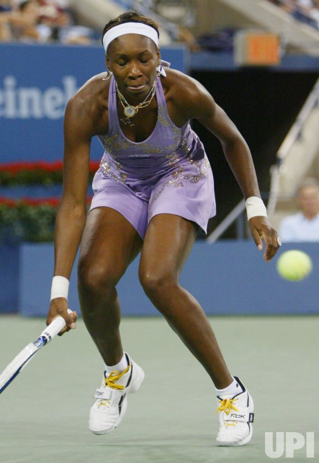 WILLIAMS VS HANTUCHOVA AT US OPEN