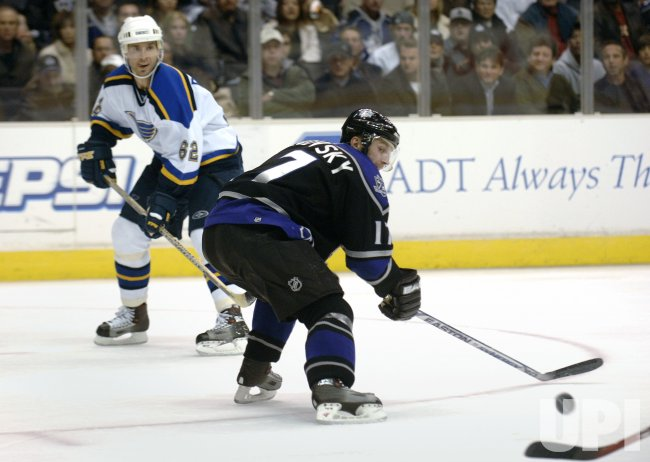 ST LOUIS BLUES VS LOS ANGELES KINGS