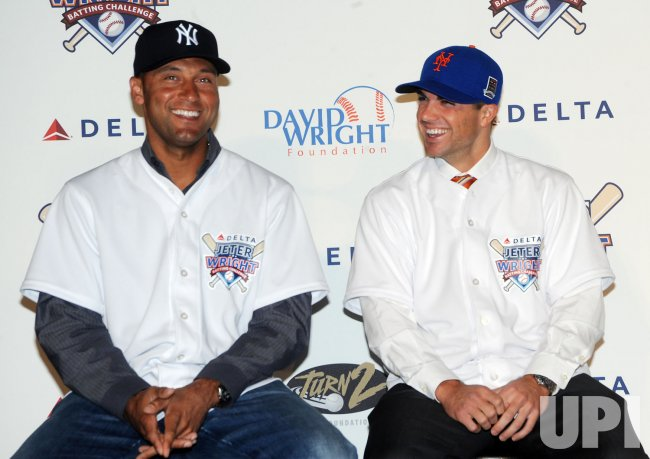 Derek Jeter, David Wright announce season-long batting challenge in New York