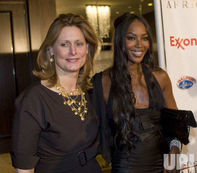 African First Ladies Health Summit gala in Beverly Hills, California