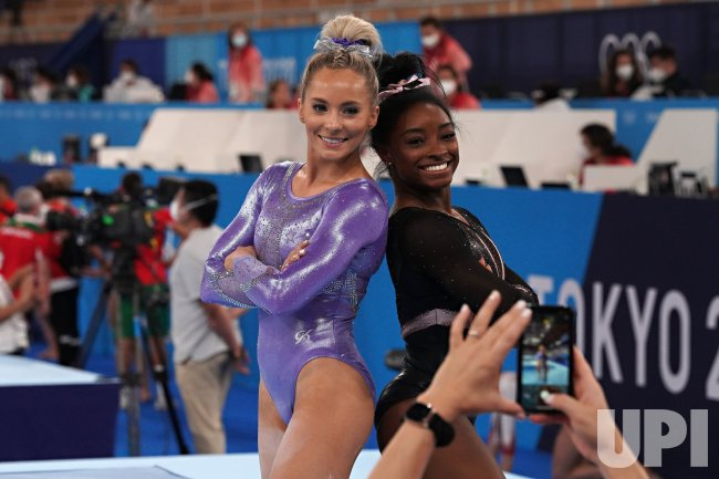 Team USA Artistic Gymnastics Practice at Tokyo Olympics