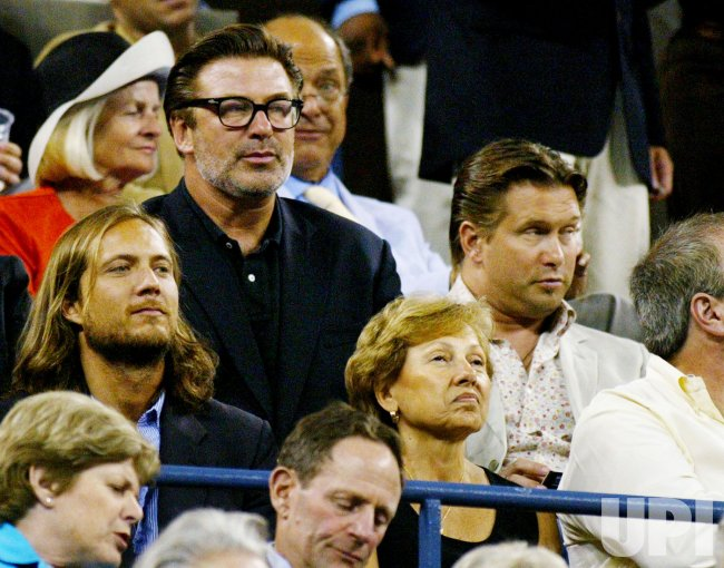 BILLY AND ALEC BALDWIN AT US OPEN