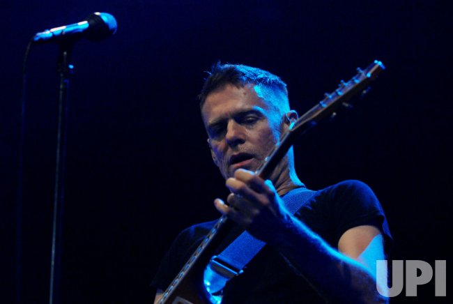 BRYAN ADAMS PERFORMS IN LONDON