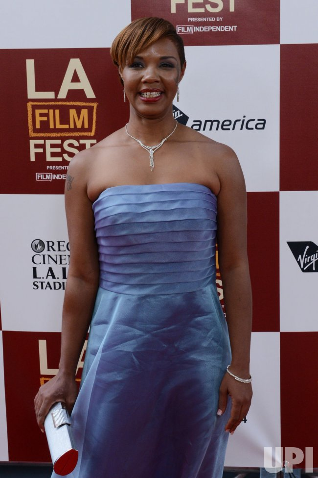 "Jovan Hathaway attends the ""Beasts of the Southern Wild"" premiere in Los Angeles"