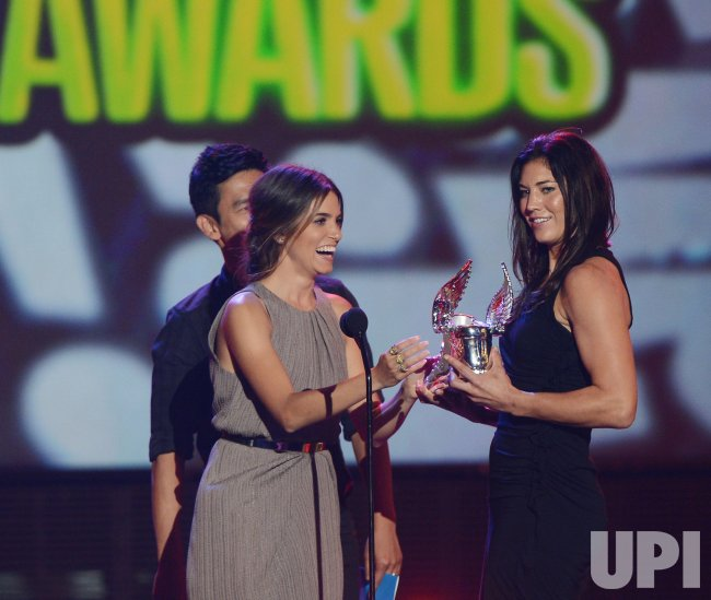 Hope Solo selected as Athlete winner at Do Something Awards in Santa Monica, California