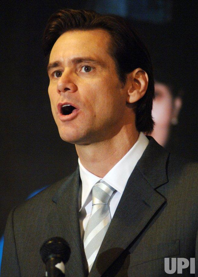 JIM CARREY CALLS ON UN TO VOTE SANCTIONS AGAINST BURMA