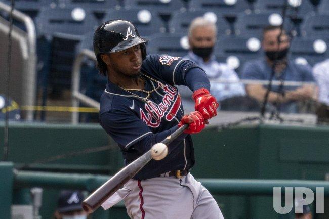Atlanta Braves second baseman Ozzie Albies