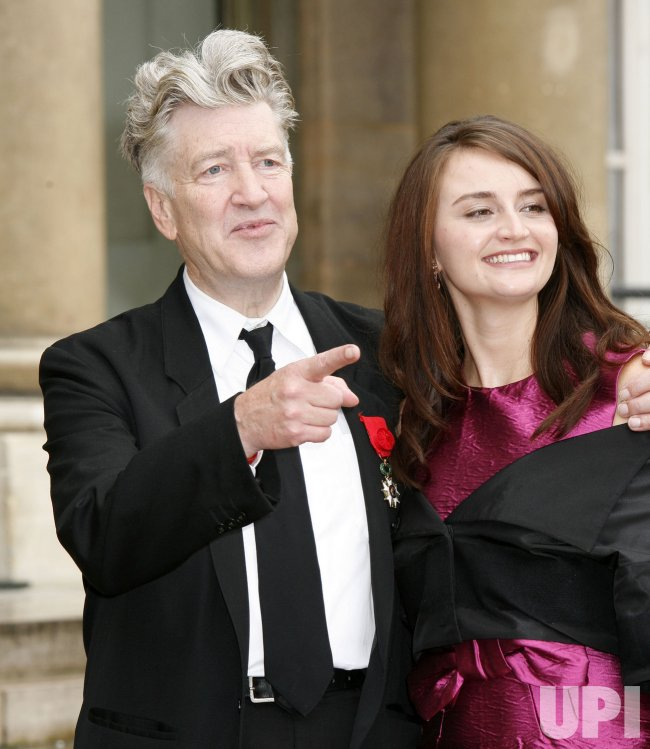 DAVID LYNCH RECEIVES FRENCH LEGION OF HONOR
