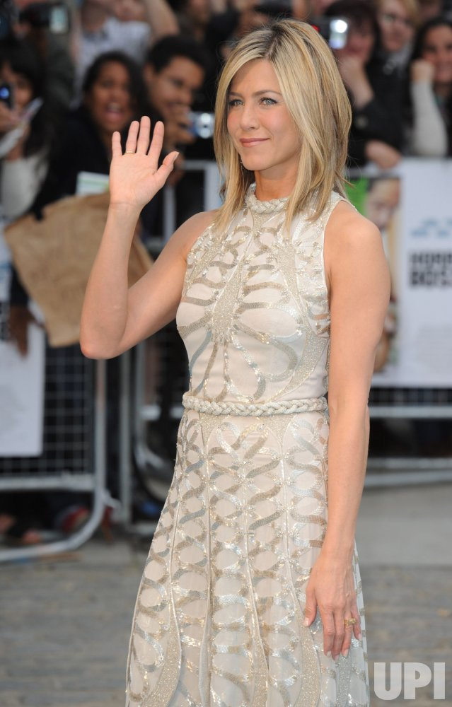 "Jennifer Aniston attends ""Horrible Bosses"" premiere in London"