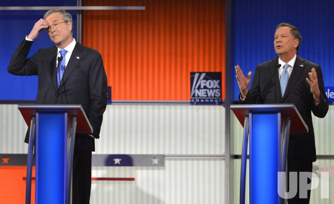 GOP presidential candidates attend debate in Des Moines, Iowa