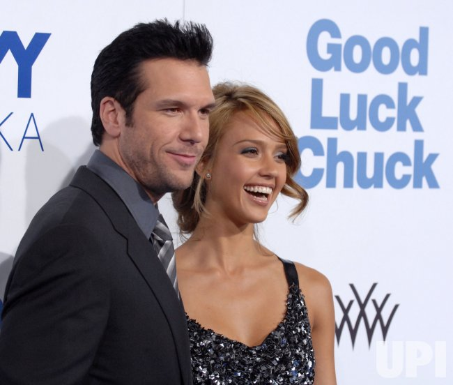 """""""GOOD LUCK CHUCK"""" PREMIERE IN LOS ANGELES"""