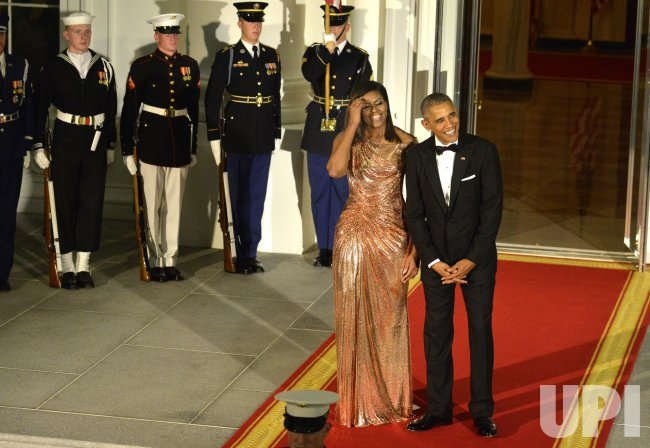 President Obama welcomes Italian PM for State Dinner