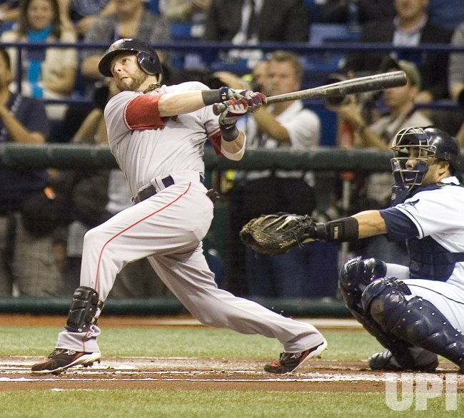 Game seven of the ALCS between the Tampa Bay Rays and Boston Red Sox in Tampa Bay