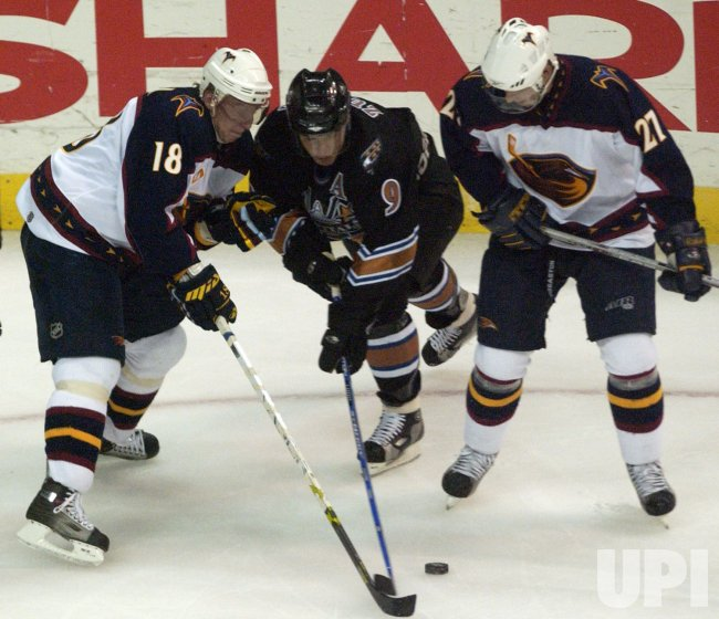 NHL: WASHINGTON CAPITALS VS. ATLANTA THRASHERS