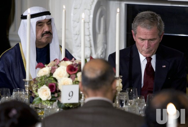 President Bush Speaks During Iftaar Dinner in Washington