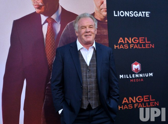 "Nick Nolte attends the ""Angel Has Fallen"" premiere in Los Angeles"