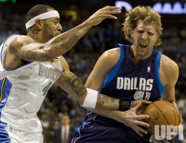 Dallas Mavericks vs Denver Nuggets In Denver