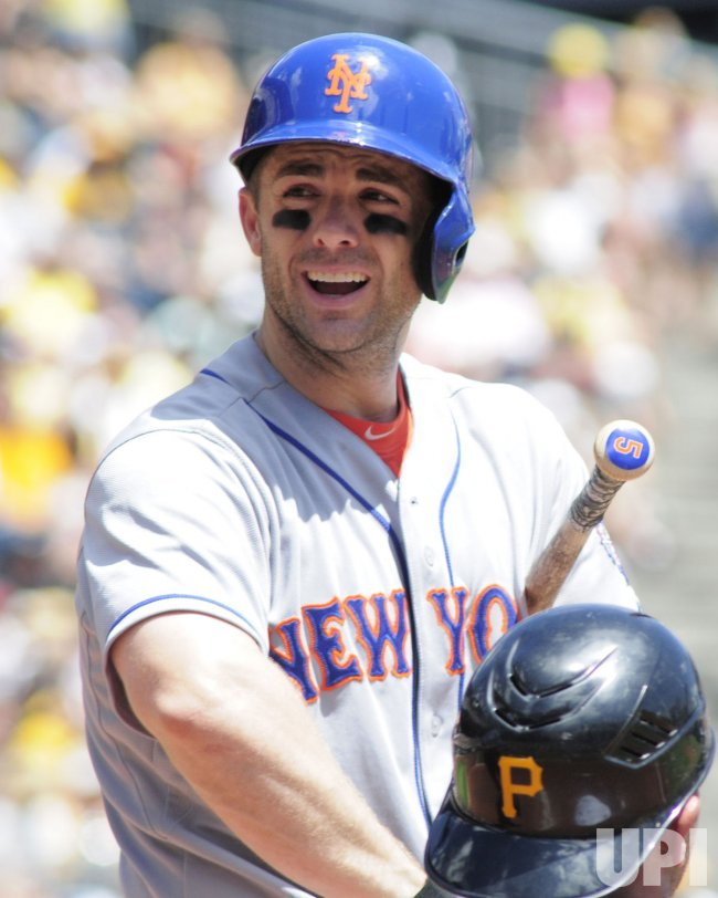 New York Mets David Wright in Pittsburgh