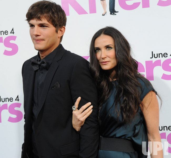 """Ashton Kutcher and Demi Moore attend the """"Killers"""" premiere in Los Angeles"""