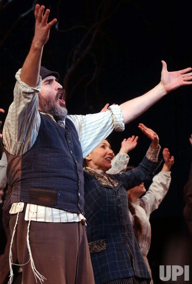 FIDDLER ON THE ROOF REVIVAL PRODUCTION OPENS ON BROADWAY