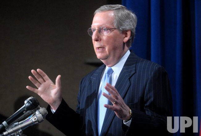 SEN. MCCONNELL SPEAKS ON IRAQ IN WASHINGTON