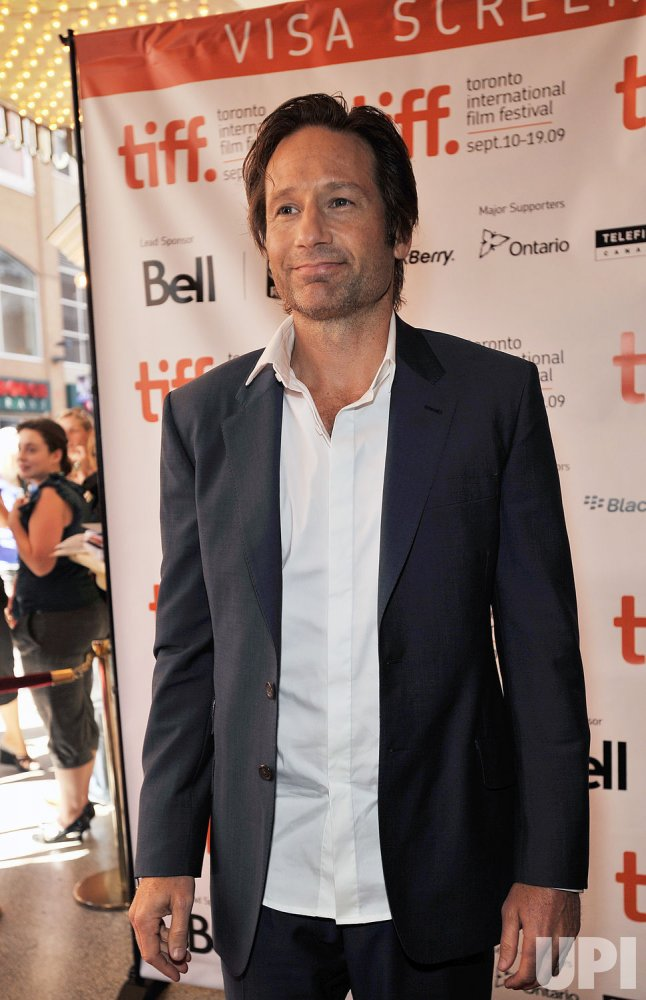 David Duchovny attends Toronto International Film Festival