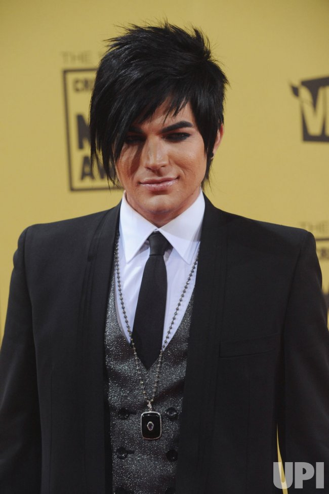 Adam Lambert attends the 15th annual Critics' Choice Movie Awards in Los Angeles