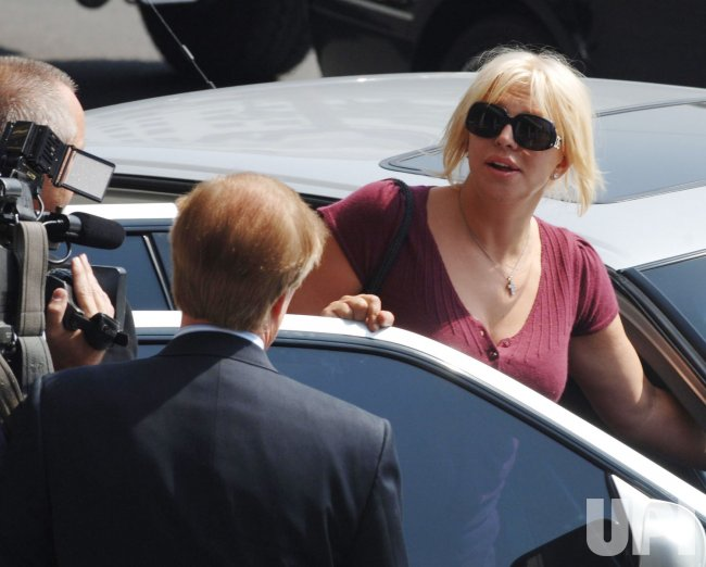COURTNEY LOVE SENTENCED
