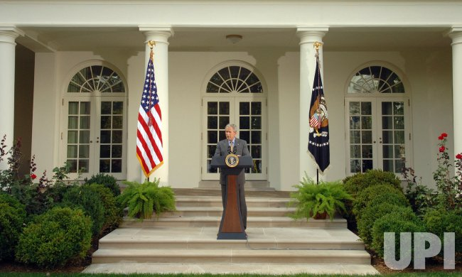 Bush discusses education at White House