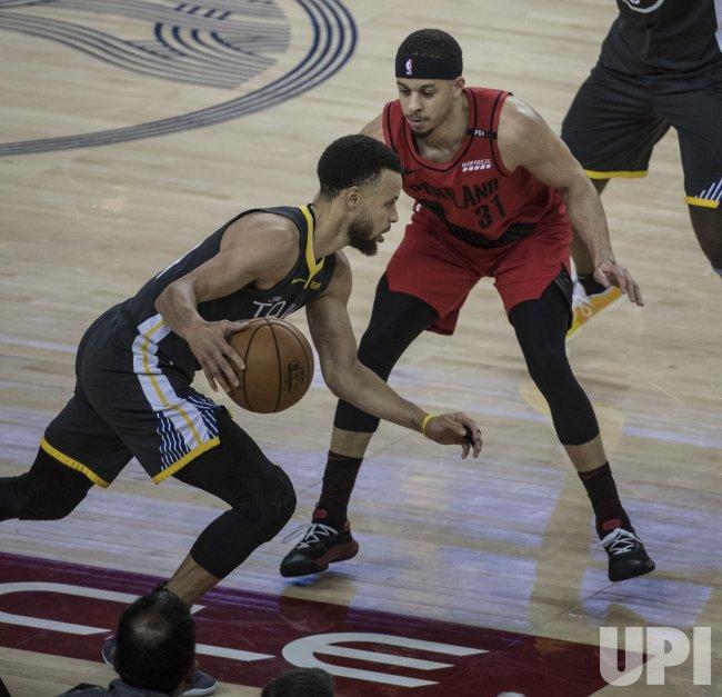 Portland Trail Blazers Golden State Warriors: Warriors Stephen Curry Scores 37 Against Trail Blazers In