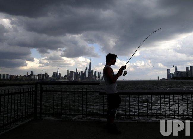 Thunderstorm in New York City