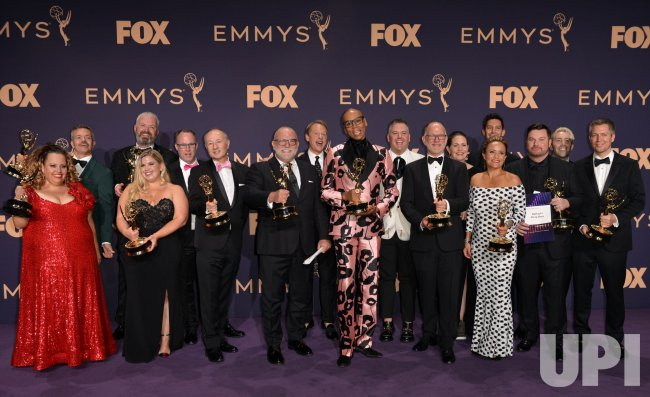 RuPaul wins award at Primetime Emmy Awards in Los Angeles