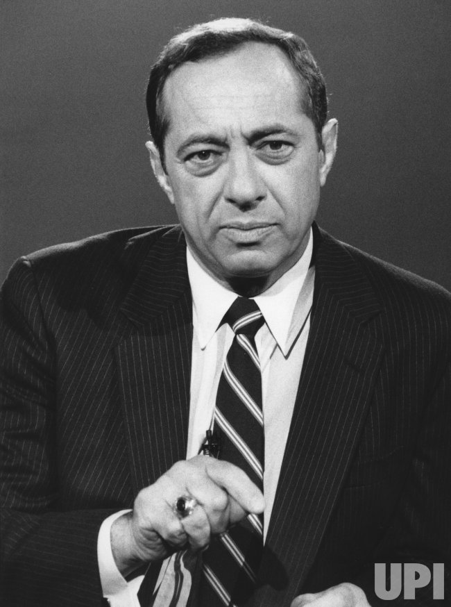"Mario Cuomo appears on NBC's ""Meet the Press"""