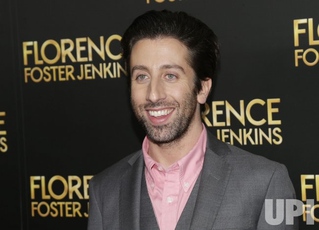 Simon Helberg at Florence Foster Jenkins Premiere