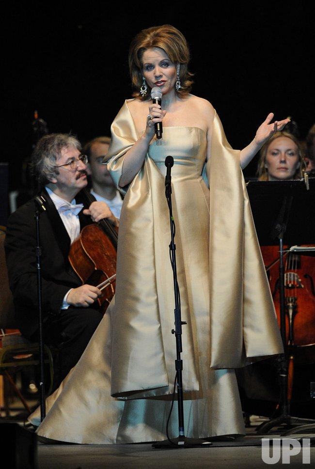 Renee Fleming performs in Boca Raton, Florida