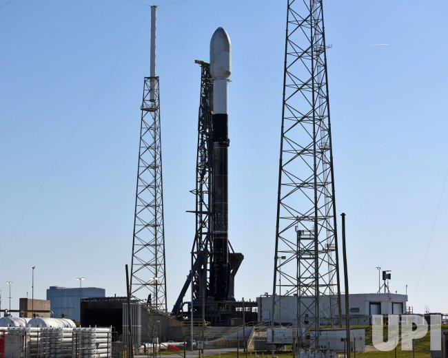 SpaceX Prepares to Launch Starlink Satellites From the Cape Canaveral Space Force Station, Florida