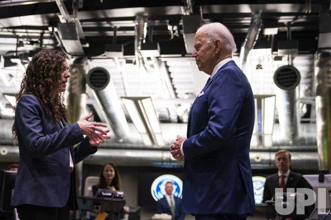 U.S. President Joe Biden Delivers Remarks to Intelligence