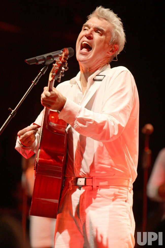 David Byrne concert in Kansas City