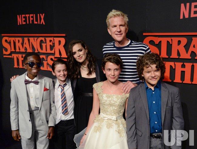"Cast members attend Netflix's ""Stranger Things"" premiere in Los Angeles"